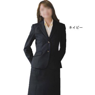 事務服・制服・オフィスウェア ユニレディ U2137 ジャケット 19号 ネイビー17