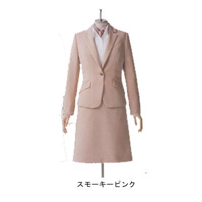 事務服・制服・オフィスウェア ユニレディ U2140 ジャケット 19号 ピンク13