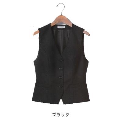 事務服・制服・オフィスウェア ユニレディ U5130 ベスト 11号 ブラック20