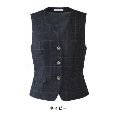 事務服・制服・オフィスウェア ユニレディ U5137 ベスト 11号 ネイビー10