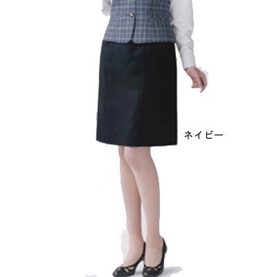事務服・制服・オフィスウェア ユニレディ U9137 タイトスカート 21号~23号