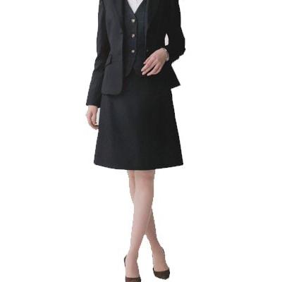 事務服・制服・オフィスウェア ユニレディ U9138 Aラインスカート 21号~23号