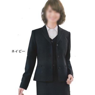 事務服・制服・オフィスウェア ユニレディ H2141 ジャケット 13号 ネイビー10