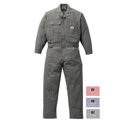 ディッキーズ 21-801(801) 年間物ヒッコリーツヅキ服 綿100%