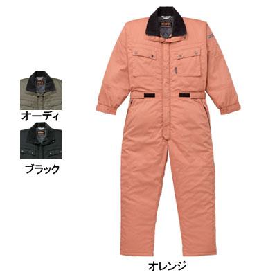防寒着 防寒服 作業着 作業服 山田辰AUTO-BI 830 防寒ツヅキ服 つなぎ 3L