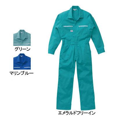 作業服 山田辰AUTO-BI 3800 ツヅキ服 つなぎ 4L