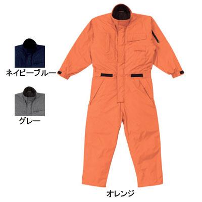 防寒着 防寒服 作業着 作業服 山田辰AUTO-BI 810 防水防寒ツヅキ服 つなぎ 4L~5L