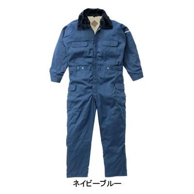 防寒着 防寒服 作業着 作業服 山田辰AUTO-BI 300 防寒ツヅキ服 つなぎ 4L~5L