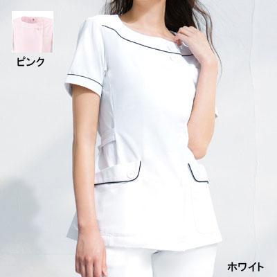 医療白衣・介護服 ソワンクレエ HI208 チュニック 4L