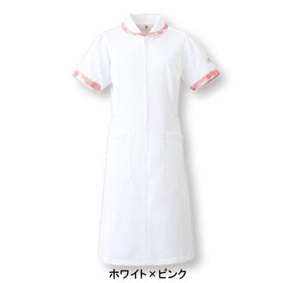 医療白衣・介護服 ソワンクレエ HI105 ワンピース S~3L