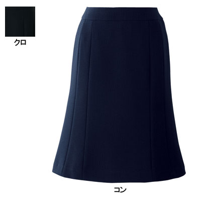 事務服/オフィスウェア ピエ S6170 フレアースカート 17号~21号