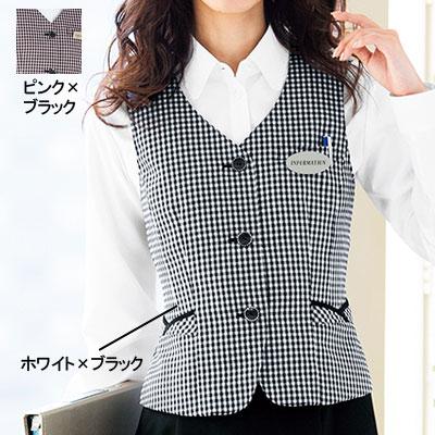 事務服/オフィスウェア ヌーヴォ FV36104 ベスト 21号~23号