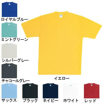 桑和 50123 半袖Tシャツ ポリエステル100%(5.5oz 170g/m2 吸汗速乾糸) ストレッチ 吸汗速乾 ソフト加工 イージーケア