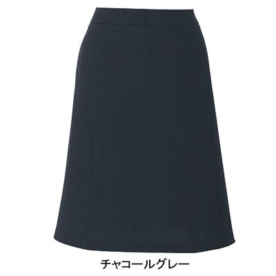 事務服・制服・オフィスウェア ピエ S3512 キテミテ体感フレアースカート 17号~19号