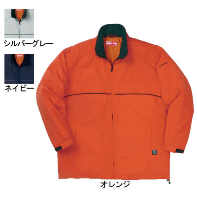 桑和 7206 エコ防寒コート 撥水 表:ポリエステル100%(再生繊維100%) 裏:ポリエステル100%(タフタキルト) 中綿:ポリエステル100%