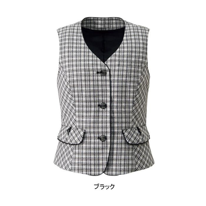 事務服・制服・オフィスウェア ヌーヴォ FV36145 ベスト 21号~23号