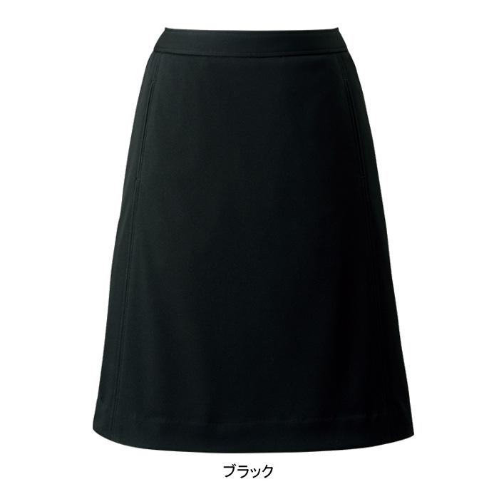 事務服・制服・オフィスウェア ヌーヴォ FS45865 切替Aラインスカート 21号~23号