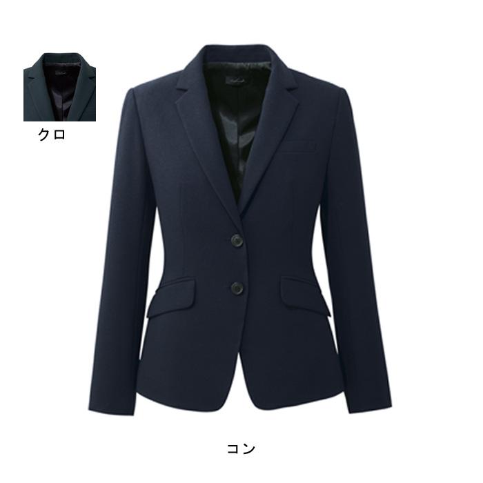 事務服・制服・オフィスウェア ピエ J3500 キテミテ体感ジャケット 17号~19号