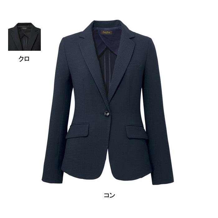 事務服・制服・オフィスウェア ピエ J4500 キテミテ体感ジャケット 21号~25号