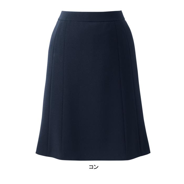 事務服・制服・オフィスウェア ピエ S3502 キテミテ体感フレアーススカート 17号~21号