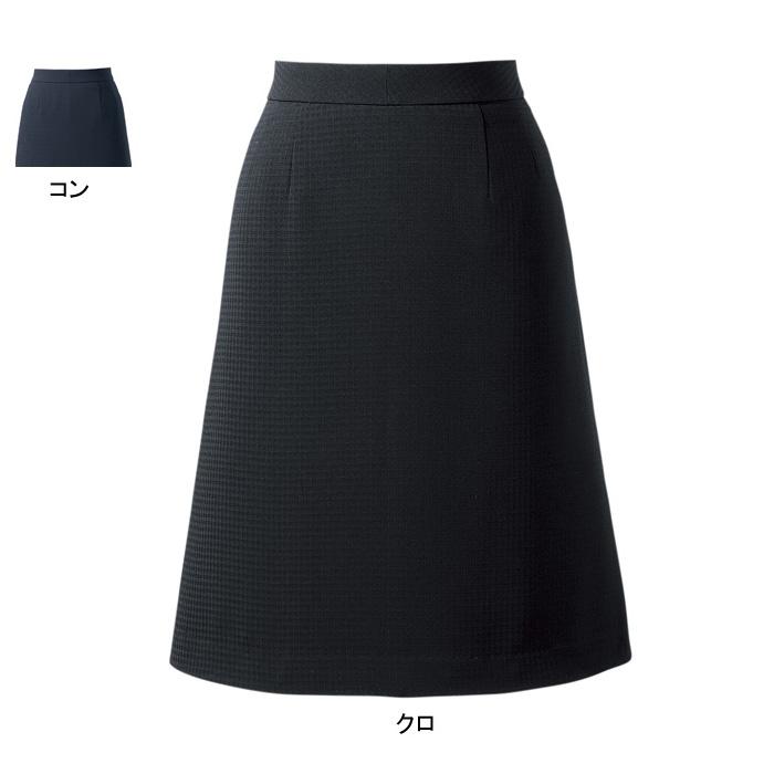 事務服・制服・オフィスウェア ピエ S4501 キテミテ体感Aラインスカート 17号~21号