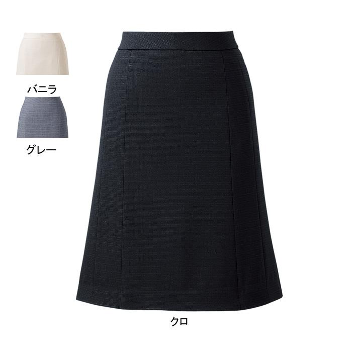 事務服・制服・オフィスウェア ピエ S4511 キテミテ体感フレアーススカート 23号~29号