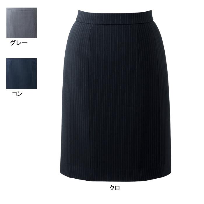 事務服・制服・オフィスウェア ピエ HCS3601 キテミテ体感momoらくスカート(52cm丈) 7号~15号