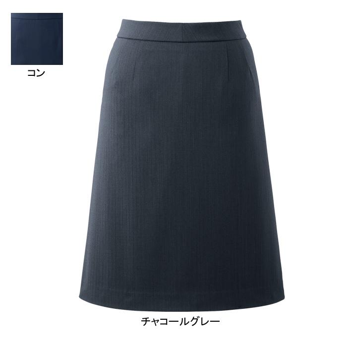 事務服・制服・オフィスウェア ピエ HCS3612 キテミテ体感Aラインスカート(54cm丈) 3号~15号