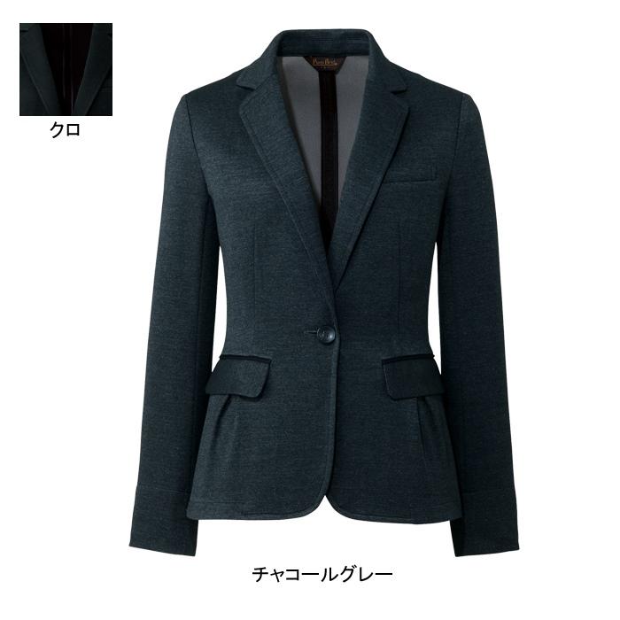 事務服・制服・オフィスウェア ピエ HCJ3620 キテミテ体感ジャケット 17号~19号
