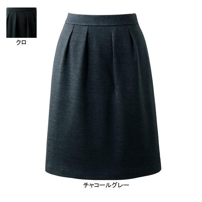事務服・制服・オフィスウェア ピエ HCS3621 キテミテ体感タックスカート(54cm丈) 3号~15号