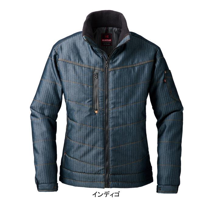 バートル 5240 防寒ジャケット(ユニセックス) 表地:ヘリンボーン、制電ケア設計 裏地:マイクロフリース 表地:綿70%・ポリエステル30% 裏地:ポリエステル100%