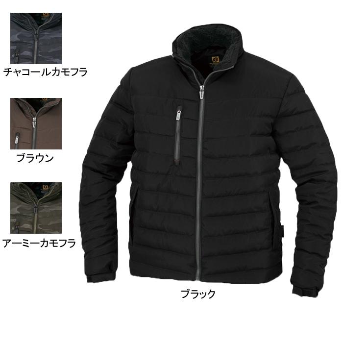 コーコス G-1090 防寒ジャケット (表)メモリークロス、(裏)タフタ、(中綿)軽量特殊綿 (表)ポリエステル100%、(裏)ポリエステル100%、(中綿)ポリエステル100%
