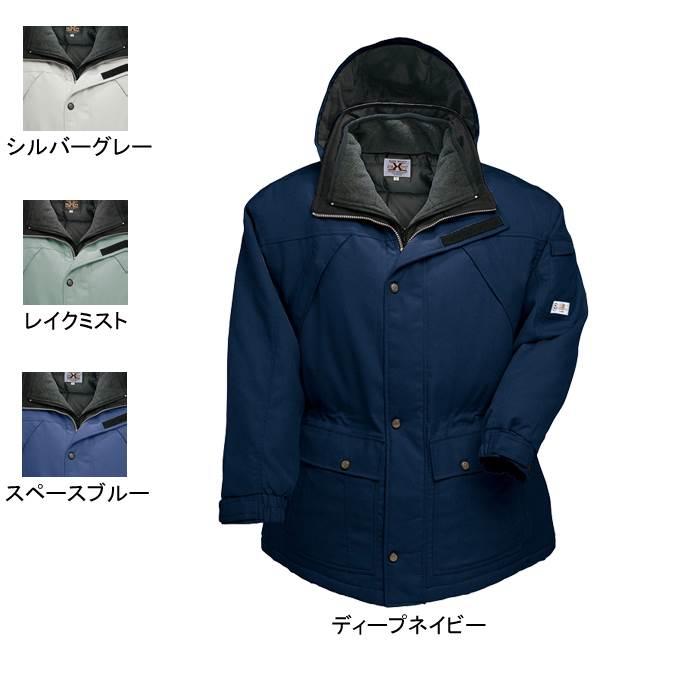 防寒着 防寒服 作業着 作業服 アイトス AZ-8240 エコ防寒コート 3L