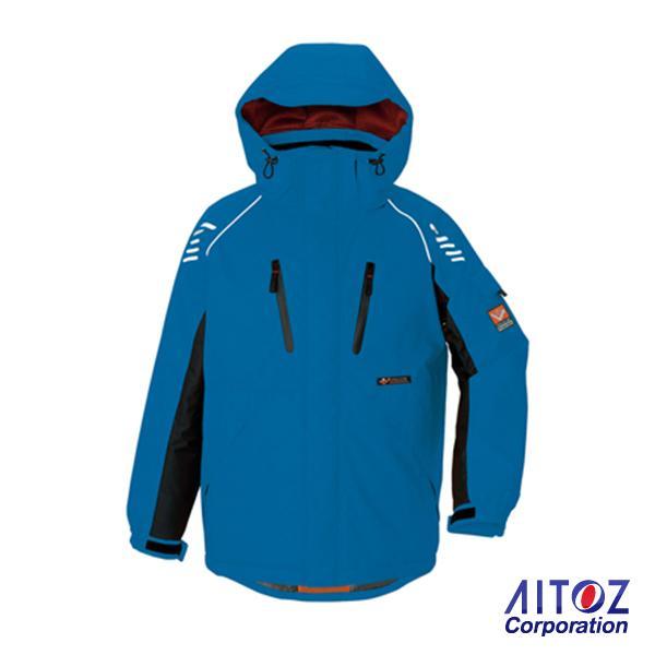 アイトス AITOZ6063 防寒ジャケット 光電子で自然な暖かさで快適機能満載!■3Lは¥300アップ、4Lは¥400アップ、5Lは¥500アップになります■