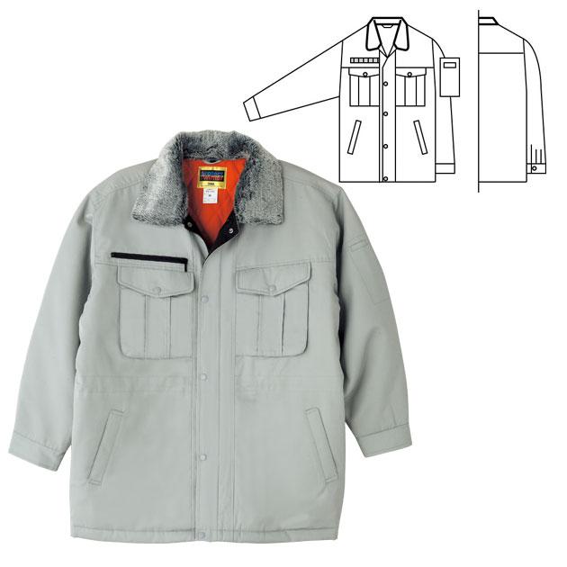 作業服 作業着 ワークウェア SOWA 桑和 秋冬作業服 防寒コート4106 刺繍 ネーム刺繍HYD2eWE9I