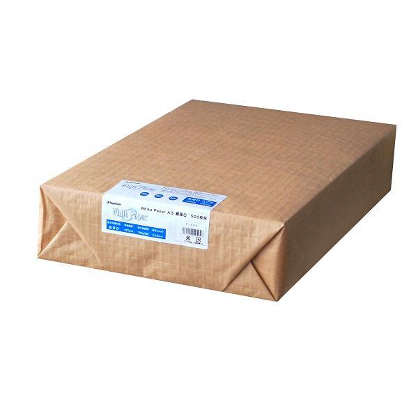 長門屋商店 ホワイトペーパー A3 最厚口 500枚 ナ-544コピー用紙 日本製 文房具