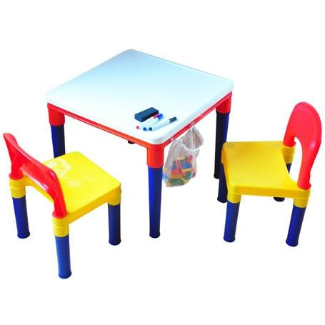 返品交換不可 創造力を育み 集中力を高める 使い方は3通り ブロックプレイ ♯8601-W3 新入荷 流行 おえかきテーブル チェア