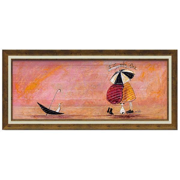 ユーパワー アートフレーム サム トフト「スニーキー ワン」 ST-15015飾り 美術 インテリア