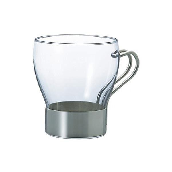 耐熱カフェグラス お歳暮 ※2021年4月中旬入荷分予約受付中 HARIO 激安格安割引情報満載 ホットカフェグラス HCGN-350SV ハリオ