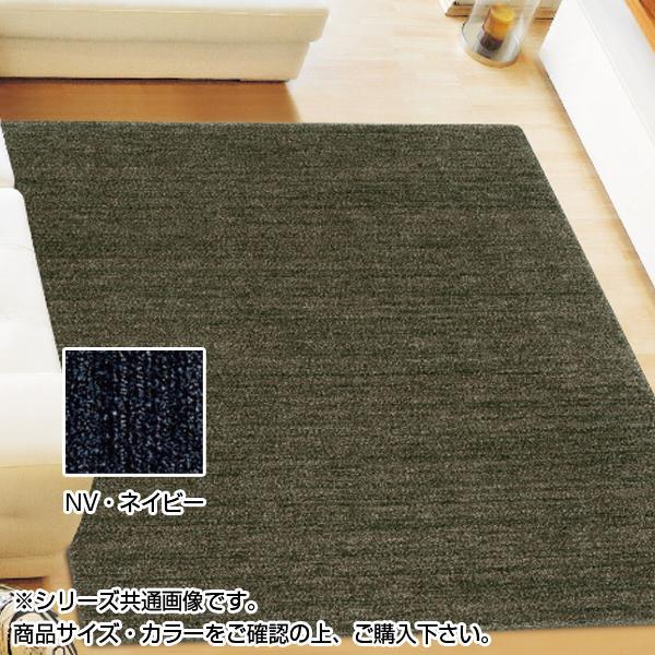 アスワン ムシカビクリーンカーペット(防虫・防ダニ・防カビ・抗菌) MC-100 190×190cm NV・ネイビー CA606247