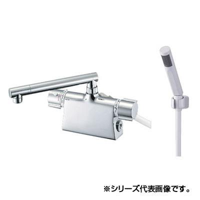 シャワーヘッドがスリムなサーモデッキシャワー混合栓。 三栄 SANEI column サーモデッキシャワー混合栓 SK785D-13【送料無料】