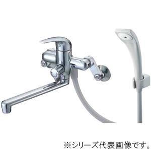 吐水、止水が簡単に行えます。 三栄 SANEI U-MIX シングルシャワー混合栓 SK170-LH-13【送料無料】