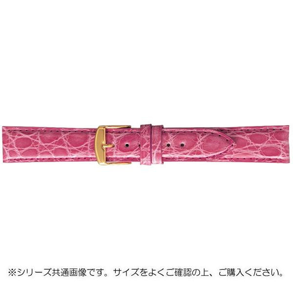 BAMBI バンビ 時計バンド エルセ ワニ革 ピンク(美錠:金) SWA007PP