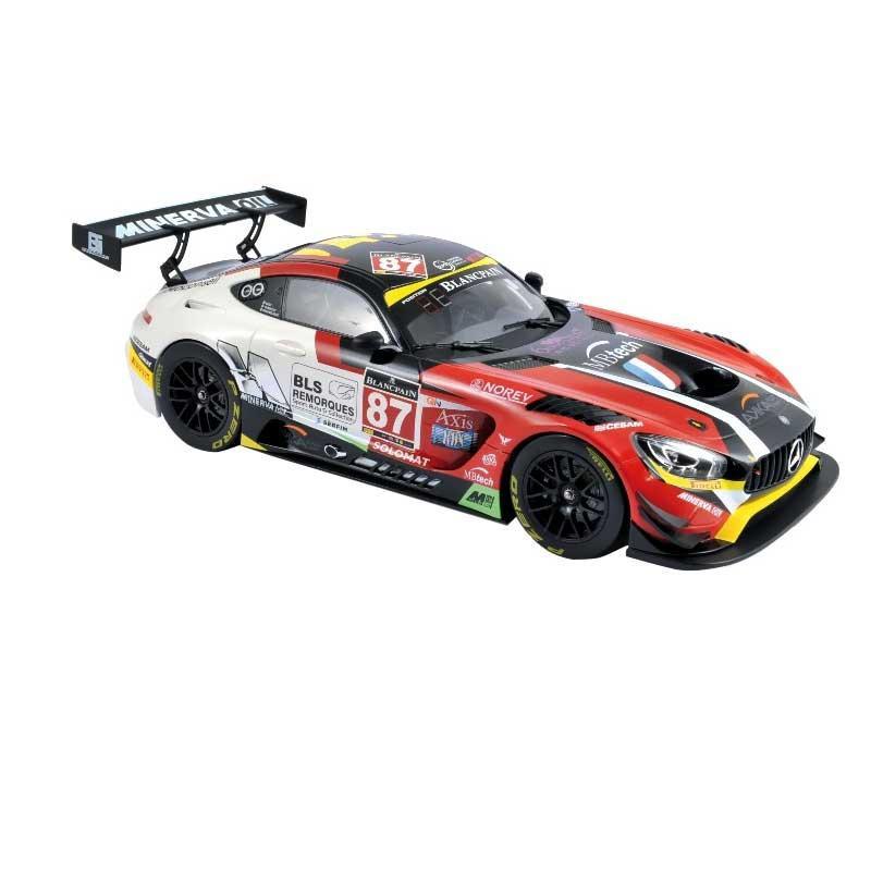 NOREV/ノレブ メルセデス AMG GT3 2016 モンツァ 87 Beaubelique / Ricci / Vannelet 1/18スケール 183492