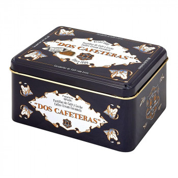 DOS CAFETERAS(ドスカフェテラス) コーヒークリームキャラメル 缶入り 330g×6個セット