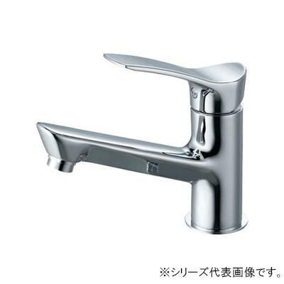 三栄 SANEI COULE シングルワンホール洗面混合栓 寒冷地用 K4712NJK-13