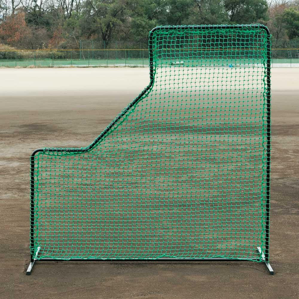 打球からピッチャーを守る防球ネット。 野球 投手用防球ネット BX84-61
