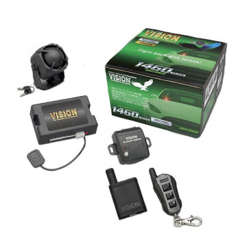 VISION 盗難発生警報装置 スマートセキュリティ リモコン×1セット 1460S-1S (1460S+TR365S)