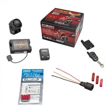 盗難発生警報装置 スマートセキュリティ トヨタ共通データ書込み済 SPパック リモコン×1セット 540HS+UPS-33+NT-4+TR365S