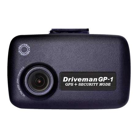 ドライブレコーダー Driveman(ドライブマン) GP-1 スタンダードセット&PLフィルター 3芯車載用電源ケーブルタイプ官公庁 ドラレコ カー用品